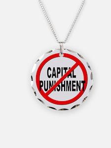 Anti / No Capital Punishment Necklace