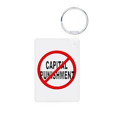 Anti / No Capital Punishment Keychains