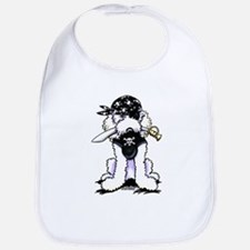 Poodle Pirate Bib