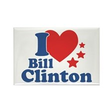 I Love Bill Clinton Rectangle Magnet