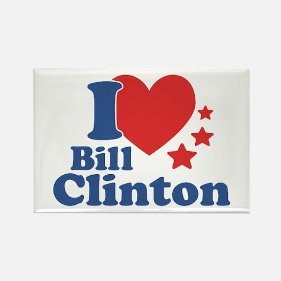 I Love Bill Clinton Rectangle Magnet