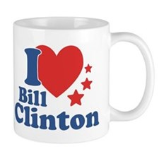 I Love Bill Clinton Mug
