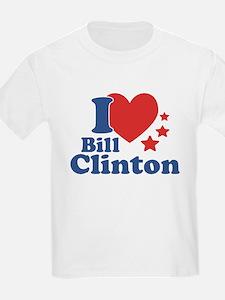 I Love Bill Clinton T-Shirt