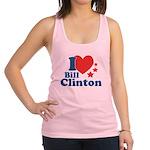 I Love Bill Clinton Racerback Tank Top