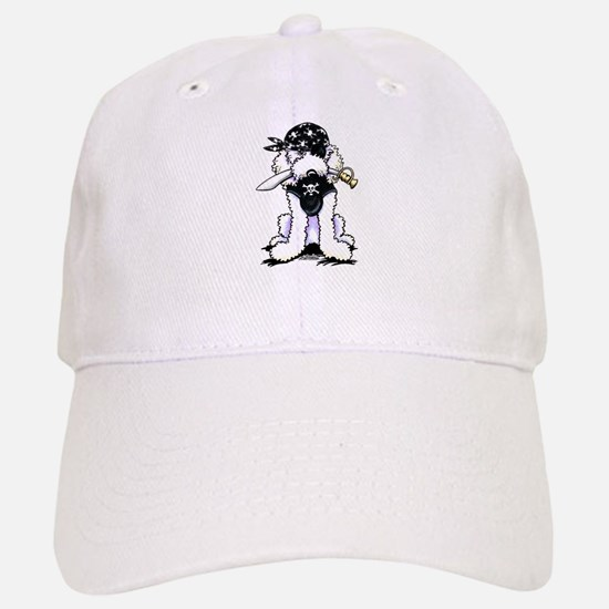 Poodle Pirate Baseball Baseball Cap