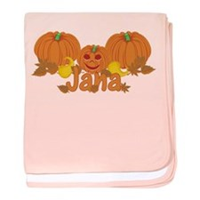 Halloween Pumpkin Jana baby blanket