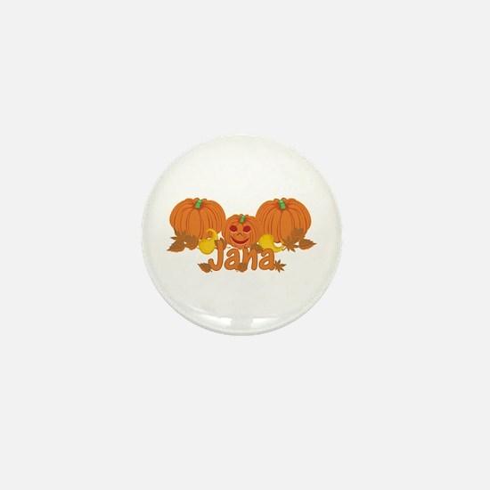 Halloween Pumpkin Jana Mini Button