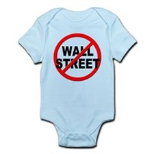 Anti / No Wall Street Infant Bodysuit