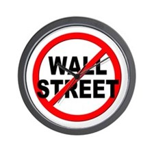 Anti / No Wall Street Wall Clock