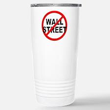 Anti / No Wall Street Travel Mug
