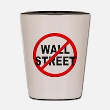 Anti / No Wall Street Shot Glass