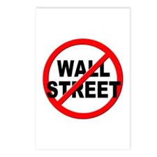 Anti / No Wall Street Postcards (Package of 8)