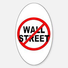 Anti / No Wall Street Decal