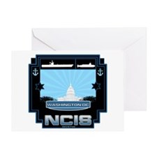NCIS Washington DC Greeting Card