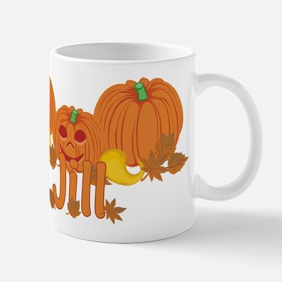 Halloween Pumpkin Jill Mug
