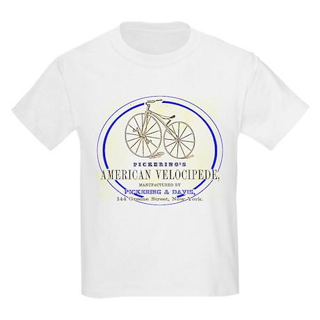 Pickering's American Velocipede Kids Light T-Shirt