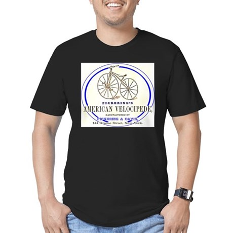 Pickering's American Velocipede Men's Fitted T-Shi