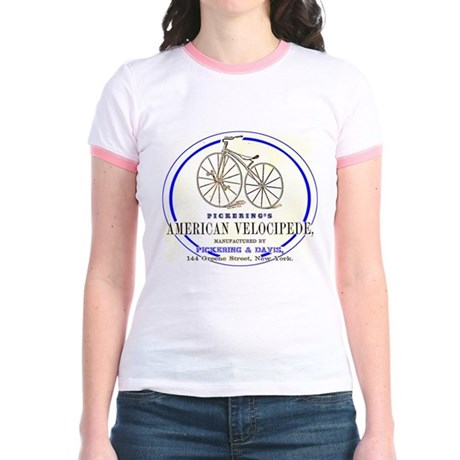Pickering's American Velocipede Jr. Ringer T-Shirt