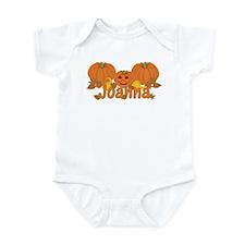 Halloween Pumpkin Joanna Infant Bodysuit
