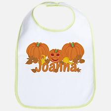 Halloween Pumpkin Joanna Bib