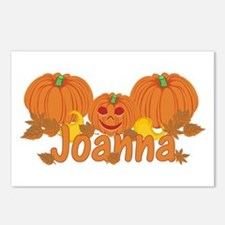 Halloween Pumpkin Joanna Postcards (Package of 8)