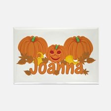 Halloween Pumpkin Joanna Rectangle Magnet