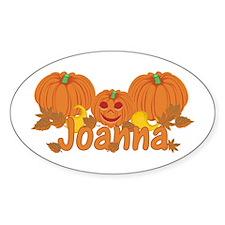 Halloween Pumpkin Joanna Decal