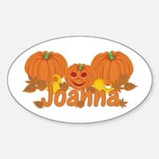 Halloween Pumpkin Joanna Decal