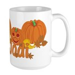 Halloween Pumpkin Jodi Large Mug