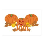 Halloween Pumpkin Jodi Postcards (Package of 8)