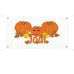 Halloween Pumpkin Jodi Banner