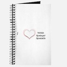 I heart Welsh Springer Spaniels Journal