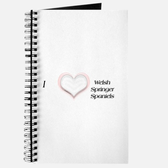 I heart Welsh Springer Spaniels Journal