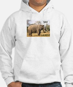 Eating for two - elephant Hoodie