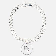 Aria & Hanna & Spencer & Emily & A Bracelet