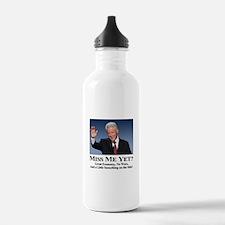 Bill Clinton Miss Me Yet Water Bottle