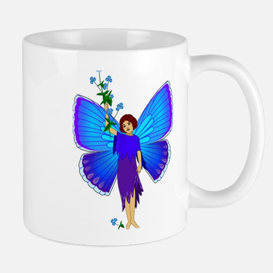 Cornflower Fairy Mug