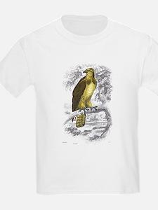 Osprey Bird (Front) Kids T-Shirt