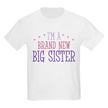 Brand New Big Sister Kids Light T-Shirt