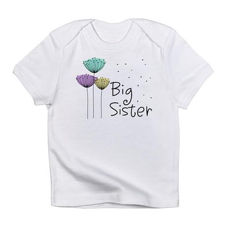Big Sister Dandelions Infant T-Shirt