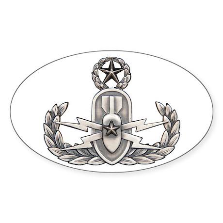 Navy Master EOD Sticker (Oval)
