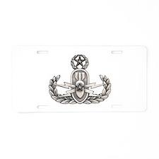 Navy Master EOD Aluminum License Plate
