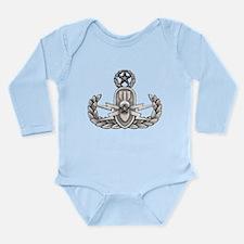 Navy Master EOD Long Sleeve Infant Bodysuit