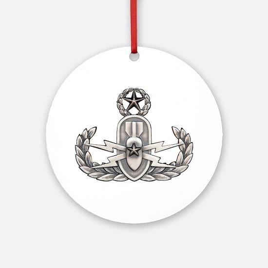 Navy Master EOD Ornament (Round)