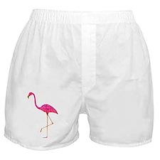 Pink Flamingo Boxer Shorts