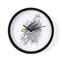 Puffin Bird Wall Clock
