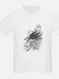 Puffin Bird (Front) Kids T-Shirt