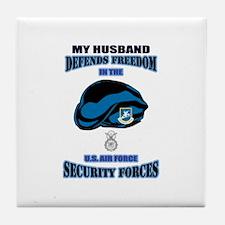 Husband Defends Tile Coaster
