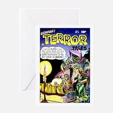 Beware! Terror Tales #2 Greeting Card