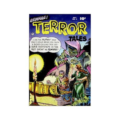 Beware! Terror Tales #2 Rectangle Magnet